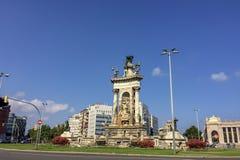 Τετράγωνο της Ισπανίας στοκ εικόνες