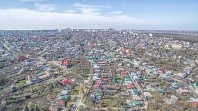 Τετράγωνο της πόλης Stavropol Ρωσία στοκ φωτογραφία
