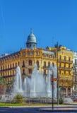 Τετράγωνο του Δημαρχείου, Βαλένθια, Ισπανία Στοκ φωτογραφία με δικαίωμα ελεύθερης χρήσης