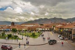 Τετράγωνο του πολεμιστή, Cusco στοκ εικόνες