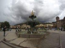 Τετράγωνο του πολεμιστή, Cusco στοκ φωτογραφία με δικαίωμα ελεύθερης χρήσης