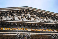 Τετράγωνο του Pantheon Παρίσι. Στοκ Εικόνες