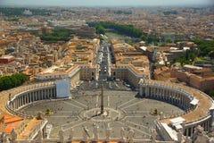 Τετράγωνο του ST Peter στη Ρώμη Στοκ Εικόνα