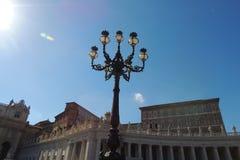 Τετράγωνο του ST Peters, Βατικανό Στοκ φωτογραφία με δικαίωμα ελεύθερης χρήσης