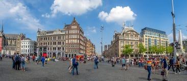 τετράγωνο φραγμάτων του Άμστερνταμ στοκ φωτογραφία