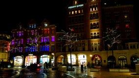 Τετράγωνο φραγμάτων φω'των Στοκ εικόνα με δικαίωμα ελεύθερης χρήσης