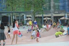 Τετράγωνο ψυχαγωγίας παιδιών σε SHENZHEN NANSHAN Στοκ εικόνα με δικαίωμα ελεύθερης χρήσης