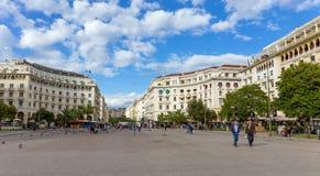 Τετράγωνο Aristotelous, Θεσσαλονίκη, Ελλάδα Στοκ εικόνες με δικαίωμα ελεύθερης χρήσης