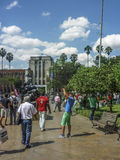 Τετράγωνο Botero σε Medellin Κολομβία Στοκ εικόνα με δικαίωμα ελεύθερης χρήσης