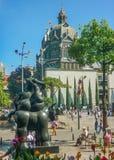 Τετράγωνο Botero σε Medellin Κολομβία Στοκ φωτογραφία με δικαίωμα ελεύθερης χρήσης