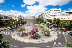 Τετράγωνο Concordia Santa Cruz de Tenerife Στοκ Εικόνες