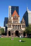 τετράγωνο copley της Βοστώνης Στοκ φωτογραφία με δικαίωμα ελεύθερης χρήσης