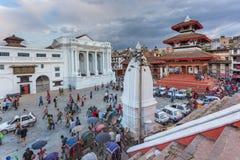 Τετράγωνο durbar σε Patan, αρχαία πόλη στην κοιλάδα του Κατμαντού Στοκ φωτογραφία με δικαίωμα ελεύθερης χρήσης