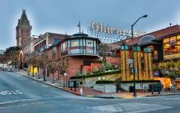 Τετράγωνο Ghirardelli, Sam Francisco, Καλιφόρνια Στοκ Φωτογραφίες