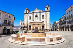 Τετράγωνο Giraldo, Evora στοκ φωτογραφία με δικαίωμα ελεύθερης χρήσης