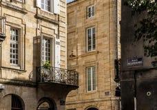 Τετράγωνο Langalerie του Μπορντώ, Aquitaine Γαλλία Στοκ εικόνα με δικαίωμα ελεύθερης χρήσης