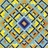 Τετράγωνο, mandala, συρμένο χέρι διανυσματικό σχέδιο ν Στοκ φωτογραφίες με δικαίωμα ελεύθερης χρήσης