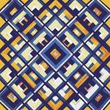 Τετράγωνο, mandala, συρμένο χέρι διανυσματικό σχέδιο ν Στοκ Εικόνα