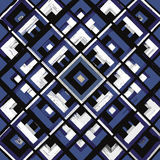 Τετράγωνο, mandala, συρμένο χέρι διανυσματικό σχέδιο ν Στοκ εικόνα με δικαίωμα ελεύθερης χρήσης