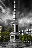 Τετράγωνο Merced (Plaza de Λα Merced) στη Μάλαγα, Ισπανία Στοκ Φωτογραφία