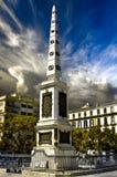 Τετράγωνο Merced (Plaza de Λα Merced) στη Μάλαγα, Ισπανία Στοκ Εικόνες