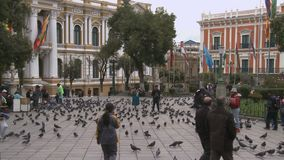 Τετράγωνο Murillo στο Λα Παζ, Βολιβία φιλμ μικρού μήκους