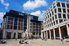 Τετράγωνο Paternoster στο Λονδίνο στοκ εικόνες με δικαίωμα ελεύθερης χρήσης