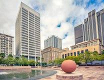 Τετράγωνο Pershing στο Λος Άντζελες Στοκ εικόνα με δικαίωμα ελεύθερης χρήσης