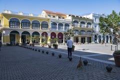 Τετράγωνο - Plaza Vieja, Αβάνα, Κούβα Στοκ Φωτογραφίες