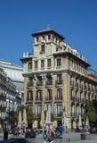 Τετράγωνο Ramales, Μαδρίτη, Ισπανία Στοκ Εικόνα
