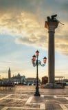 Τετράγωνο SAN Marco στη Βενετία, Ιταλία στοκ εικόνα με δικαίωμα ελεύθερης χρήσης