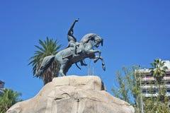 Τετράγωνο SAN Martin σε Mendoza, Αργεντινή Στοκ Φωτογραφία