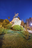 Τετράγωνο SAN Martin σε Mendoza, Αργεντινή Στοκ φωτογραφία με δικαίωμα ελεύθερης χρήσης