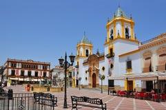 Τετράγωνο Socorro, Ronda, Ισπανία στοκ εικόνες
