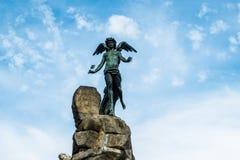 Τετράγωνο Statuto, Τορίνο, Piedmont, Ιταλία στοκ φωτογραφία