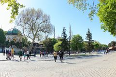 Τετράγωνο Sultanahmet Στοκ Φωτογραφία