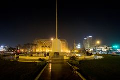Τετράγωνο Tahrir στοκ φωτογραφίες με δικαίωμα ελεύθερης χρήσης