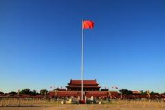 Τετράγωνο Tian'anmen στο Πεκίνο Στοκ φωτογραφία με δικαίωμα ελεύθερης χρήσης