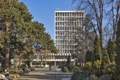 Τετράγωνο Velbazhd στην πόλη του Κιουστεντίλ, Βουλγαρία Στοκ φωτογραφίες με δικαίωμα ελεύθερης χρήσης