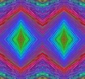 Τετραγωνικά αφηρημένα υπόβαθρα τέχνης χρωμάτων Στοκ Εικόνες