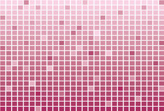 Τετραγωνικά κεραμίδια εικονοκυττάρου, αφηρημένο υπόβαθρο μωσαϊκών Στοκ Εικόνες