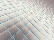Τετραγωνικά ομαλά τούβλα Στοκ Φωτογραφία