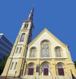 Τετραγωνική βαπτιστική εκκλησία ακροπόλεων Στοκ φωτογραφία με δικαίωμα ελεύθερης χρήσης