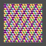 Τετραγωνική γραμμή Στοκ Φωτογραφίες