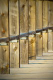 τετραγωνική ξυλεία Στοκ Εικόνες