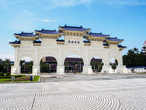 Τετραγωνική πύλη ελευθερίας, μνημείο Chiang Kai -Kai-shek Στοκ φωτογραφία με δικαίωμα ελεύθερης χρήσης