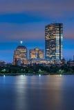 τετραγωνική όψη νύχτας copley Charles Στοκ Εικόνα