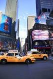 τετραγωνικοί χρόνοι πόλη Νέα Υόρκη Στοκ φωτογραφία με δικαίωμα ελεύθερης χρήσης