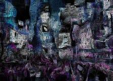 τετραγωνικοί χρόνοι Στοκ εικόνα με δικαίωμα ελεύθερης χρήσης