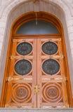 τετραγωνικός ναός πορτών Στοκ φωτογραφίες με δικαίωμα ελεύθερης χρήσης
